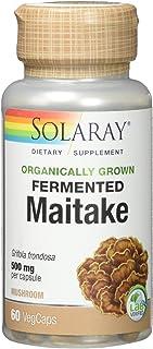 Solaray Maitake Mushroom Organically Grown, Veg Cap (Btl-Plastic) | 60ct