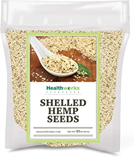 Sponsored Ad - Healthworks Shelled Hemp Seeds Canadian (32 Ounces / 2 Pound) | Premium & All-Natural | Contains Omega 3 & ...