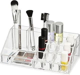 Wenko 20986100 Femme Organisateur de Maquillage 16 Séparations Dimensions 22 x 12,5 x 6 cm