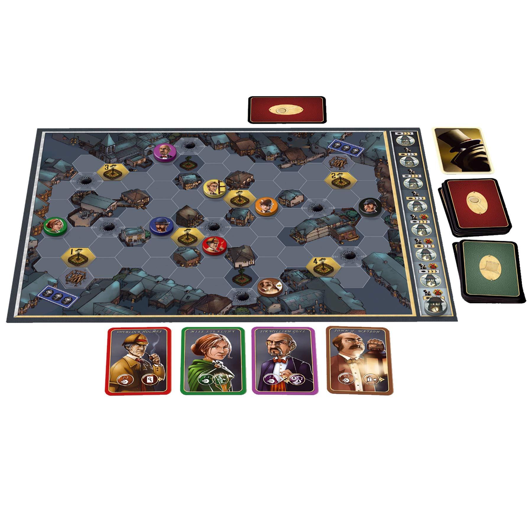 Asmodee- Mr. Jack Londres - Español, Color (MRJ05ML): Amazon.es: Juguetes y juegos