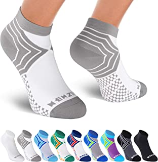 NEWZILL Low Cut Compression Socks (15-20 mmHg) for Men & Women - U.S Olympic Fencer Recommend