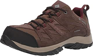 Columbia Women's Crestwood Waterproof Hiking Boot, Breathable, High-Traction Grip