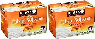 Kirkland Signature Fabric Softener Sheets 250CT (2packs)