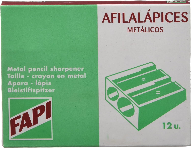 FAIBO 754943 Aluminium Sharpener Japan's largest assortment half of 12 Pack