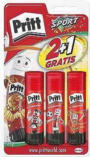 comprar comparacion Pritt Barra Adhesiva, pegamento infantil seguro para niños para manualidades, cola universal de adhesión fuerte para estuc...
