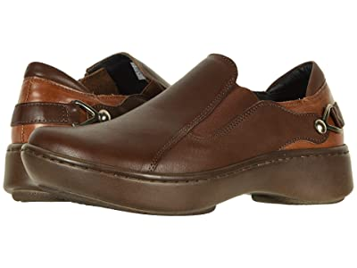 Naot Nautilus (Toffee Brown Leather Combo) Women