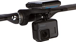 KOM Cycling GoPro Cycling Computer Mount Bundle Compatible with The Wahoo Elemnt, Elemnt Mini, and Bolt - for GoPro Hero 7, Hero 6, Hero 5, Hero 4, 3+, 3, 2 and HD Cameras