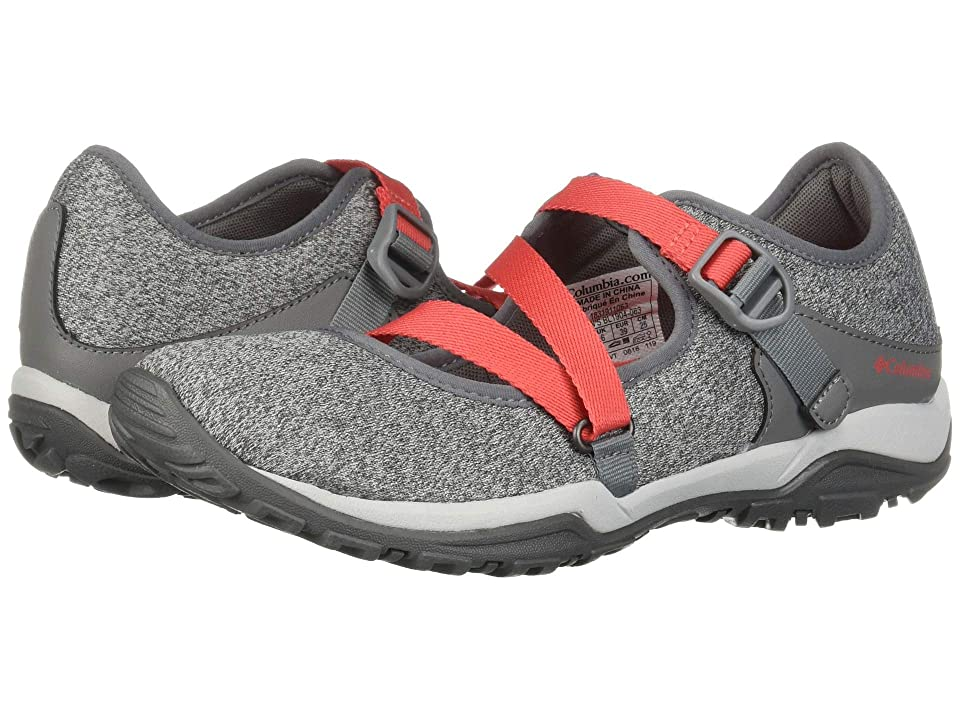 Columbia Fire Venturetm Mary Jane II Knit (Grey Ice/Red Coral) Women