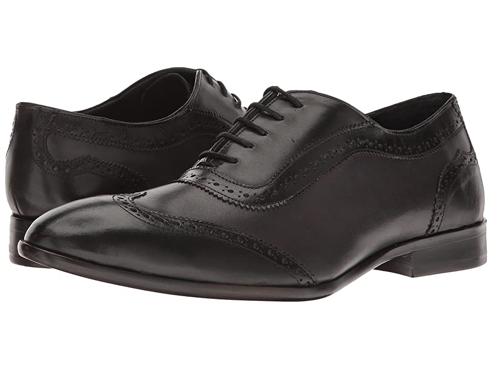 Messico Paterno (Black Patent/Burnished Grey Leather) Men