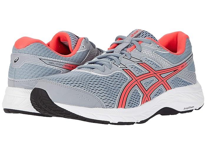 ASICS  GEL-Contend 6 (Sheet Rock/Diva Pink) Womens Running Shoes