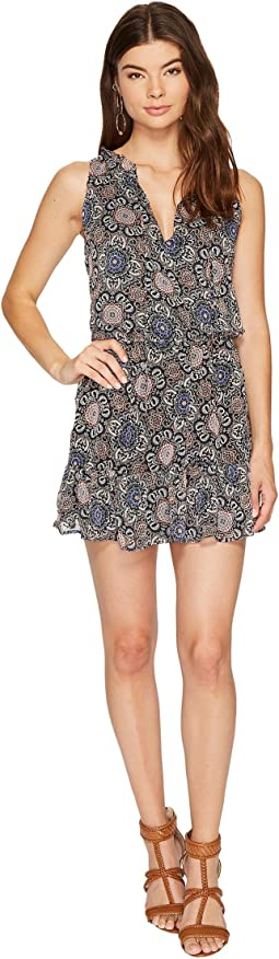 BB Dakota - January Printed Fit & Flare Dress