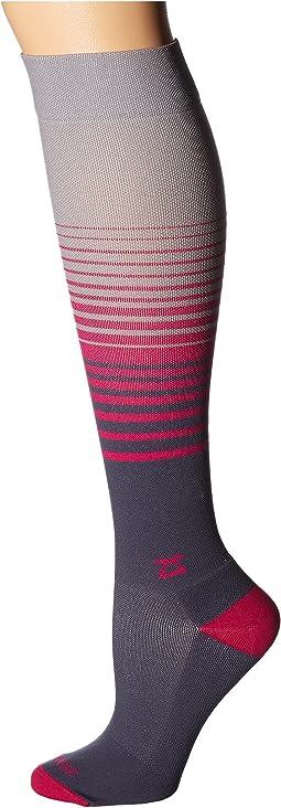 Zensah - Fresh Legs Classic Stripes Compression Socks