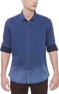 cb49572055 BASICS Men's Shirts Online: Buy BASICS Men's Shirts at Best Prices ...