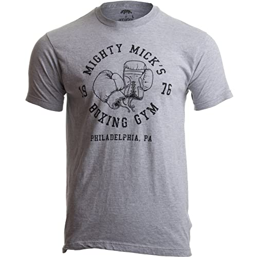 311af71d4 Mighty Mick's Boxing Gym 1976 | Philadelphia Boxer Vintage Style Gloves T- Shirt