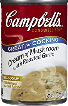 Campbell's Cooking Cream Of Mushroom - Roasted Garlic - 10.75 oz