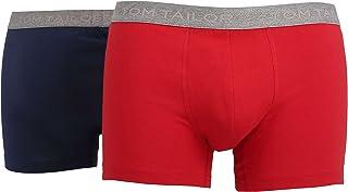 Tom Tailor Men's Plain Underwear Set Red Cardinal-Indigo