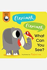 Elephant, Elephant, What Can You See? Board book