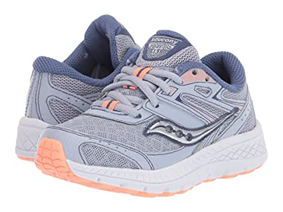 Saucony Kids S-Cohesion 13 LTT (Little Kid/Big Kid) (Blue/Mist/Melon) Girls Shoes