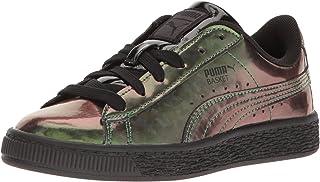 PUMA Kids' Basket Classic Holo PS Sneaker