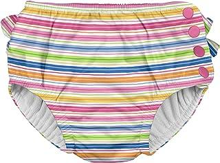 i play. Girls' Ruffle Snap Reusable Absorbent Swimsuit...