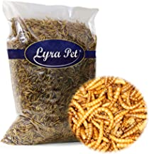 Lyra Pet 5 kg Mehlwürmer getrocknet Futter für Fische Nager Reptilien Igel
