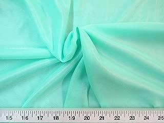 Yard Fabric Nylon 40 Denier Tricot Stretch Mint 108 inch Wide TR04
