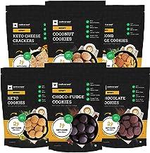 Ketofy - Mini Keto Cookies Pack (1.5Kg)   New Pack of 6 Delicious Keto Cookies
