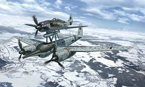 1 72 飛行機シリーズ Fw190A-8 & Ju88G-1  ミステル2
