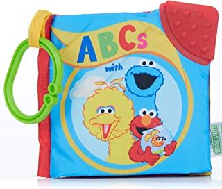 Sesame Street On The Go ABCs with Big Bird, Elmo, and Friends Soft Teether Book, 5