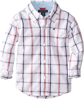 Tommy Hilfiger Boys Ellison Long Sleeve Woven Shirt