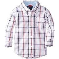 Tommy Hilfiger Boys Ellison Long Sleeve Woven Shirt