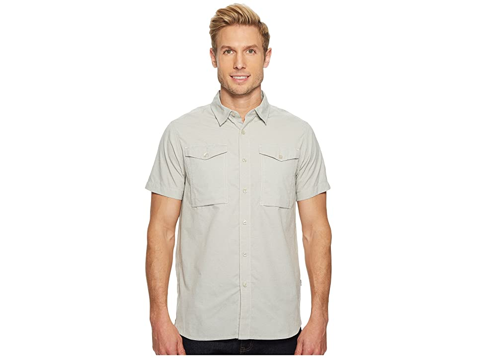The North Face Short Sleeve Monanock Utility Shirt (Mid Grey) Men