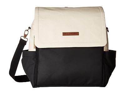 petunia pickle bottom Glazed Color Block Abundance Boxy Backpack (Birch/Black) Backpack Bags