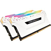 Corsair Vengeance RGB Pro 16GB (2 x 8GB) PC4-24000 3000MHz DDR4 288-Pin DIMM Desktop Memory