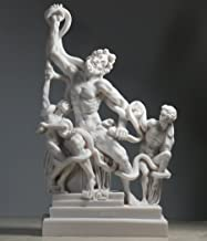 Laocoön and His Sons Group Serpents Museum Cast Marble Statue Sculpture 11΄΄