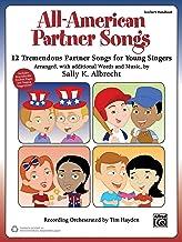 All-American Partner Songs: 12 Tremendous Partner Songs for Young Singers (Teacher's Handbook) (Partner Songbooks)