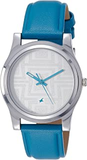 Fastrack Analog Silver Dial Women's Watch -NK6046SL04