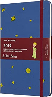 Moleskine Limited Edition Petit Prince 12 Month 2019 Weekly Planner, Hard Cover, Large (5