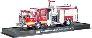 Pierce Dash Top Mount Pumper Fire Truck Diecast 1: 64Model (Amercom GB-16)
