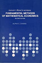 Instructor's manual to accompany fundamental methods of mathematical economics, second edition