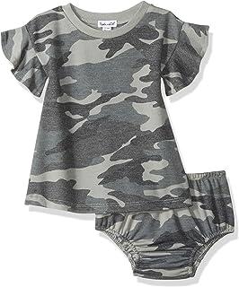 Splendid Baby and Toddler Girls' Dress Set, Short & Long-Sleeve