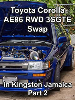 Clip: Toyota Corolla AE86 RWD 3SGTE Swap in Kingston Jamaica Part 2