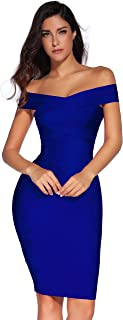 Best bcbg royal blue bandage dress Reviews