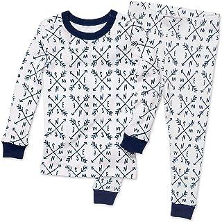 The Honest Company Baby Organic Cotton 2-Piece Snug Fit Pajama Set
