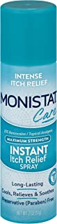Monistat Care Instant Itch Relief Spray | Cools & Soothes | Maximum Strength | 2 Oz