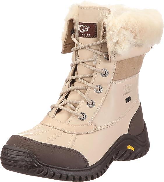 UGG Women's Adirondack II Winter Boot, Otter, Ladies Winter Boots Waterproof