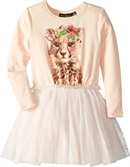 Floral Cheetah Circus Dress (Toddler/Little Kids/Big Kids)