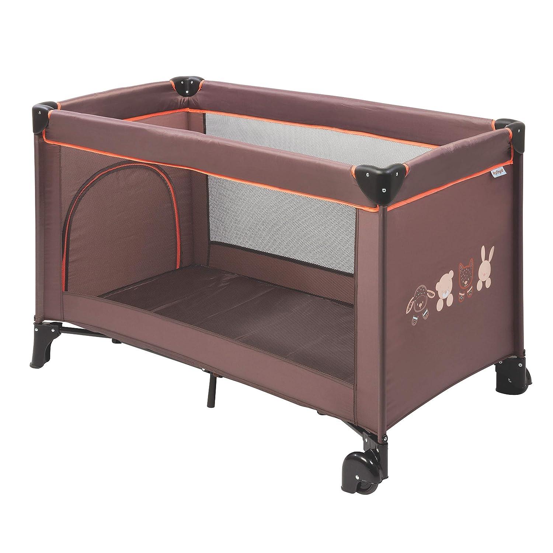 Ponacat Tragbare Babybett Reise Reversible Baby Stubenwagen Baby Co-Schlafbett Baby Liege f/ür Schlafzimmer Reisen