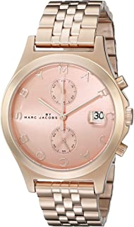 Marc by Marc Jacobs Women's MBM3384 Rose Gold-Tone Stainless Steel Bracelet Watch