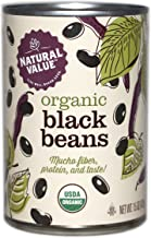 Natural Value Organic Black Beans, 15 Ounce (Pack of 12)